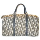 DIOR vintage travel bag in canvas Oblique - Christian Dior
