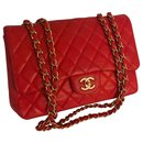 Limited Jumbo Flap Bag w/matte HW Chanel box, Dust Bag