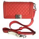 Limited Medium Boy Galuchat strap - Chanel