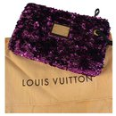 Louis Vuitton Rococo Sequin Clutch