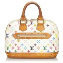 Louis Vuitton monogramme blanc multicolore Alma PM