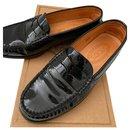 Moccasins Tod s black polish - Tod's