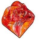 Hermes Orange Feux du Ciel Silk Scarf - Hermès