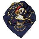 Hermes Blue Springs Silk Scarf - Hermès