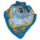 Hermes Blue Dies et Hore Silk Scarf - Hermès