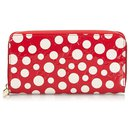 Louis Vuitton Red Dots Infinity Vernis Zippy Wallet