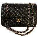 Jumbo lined Flap Bag w/ box - Chanel