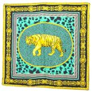 "Versace Scarf ""upperr Leopard"""
