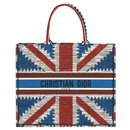 DIOR BOOK TOTE BAG UNION JACK FLAG BRAND NEW - Dior