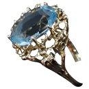 Bague or 18 carats art deco vintage - Autre Marque
