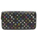 Louis Vuitton Monogram Muliticolore Zip Around Long Wallet