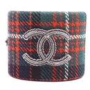 Manchette Extra Large CC Tweed Multicolore CC - Chanel