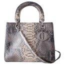 LADY DIOR PYTHON BAG - Dior
