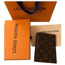 Louis Vuitton passport holder new