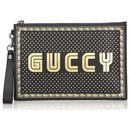 Pochette noire Guccy Moon and Stars Gucci