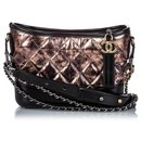 Chanel Brown Small Leather Gabrielle Crossbody