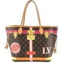 Louis Vuitton Neverfull MM Multicolor Monogram Canvas