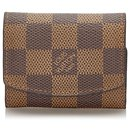 Louis Vuitton Brown Damier Ebene Cuff Link Holder