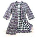 manteau en tweed réversible - Chanel
