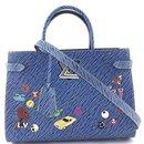 Louis Vuitton Twist Blue Denim Epi Leather