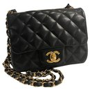 Timeless flap bag mini square - Chanel