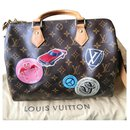 Sublime speedy shoulder bag world tour - Louis Vuitton