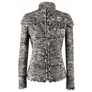 rare patch tweed jacket - Chanel
