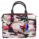 Dior limited editon Anselm Reyle boston handbag – pink camouflage.