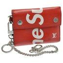 Louis Vuitton x Supreme Epi Chain Compact Wallet