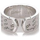 Bague Cartier Argent C de Cartier