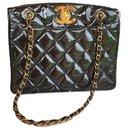 CHANEL vintage patent leather bag - Chanel