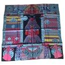 Samouraï Hermès scarf 90 cm