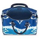 Louis Vuitton limited edition Speedy bandouliere 30 Monogram Escale blue