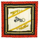Cartier soie foulard châle Wrap Cape Panther