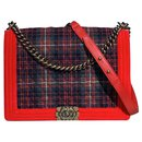 Eddinburgh tartan Large Boy - Chanel