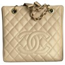 Timeless PETITE SHOPPING TOTE PST caviar - Chanel