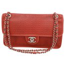 Chanel Timeless handbag in perforated leather