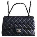 Chanel midnight Medium classic flap