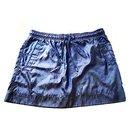 Mini jupe en nylon noir monogramme GG taille XS - Gucci