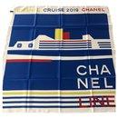 CHANEL pure silk scarf - Chanel