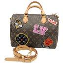 "LOUIS VUITTON SPEEDY BAG 30 limited series ""PATCHES"" - Louis Vuitton"