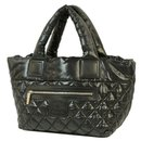 COCO Cocoon totePM Womens tote bag A48610 black x silver hardware - Chanel
