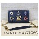 Louis Vuitton Twist Monogram Flower Wallet On Chain Bag