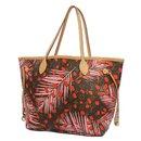 LOUIS VUITTON Neverfull MM jungle dot Womens tote bag M41979 Poppy - Louis Vuitton
