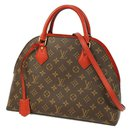 Louis Vuitton alma into Womens handbag M41779 ROUGE