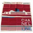 Pure silk CHANEL scarf - Chanel