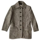 Manteau court vintage super chic YSL Variations - Yves Saint Laurent