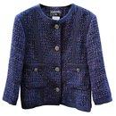 5K$ tweed and denim jacket - Chanel