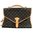 Louis Vuitton Brown Monogram Beverly GM Briefcase