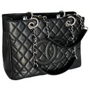 Black Caviar GST Grand Shopping Tote Bag - Chanel